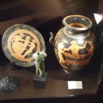 Erotic scenes in ancient Greek pottery