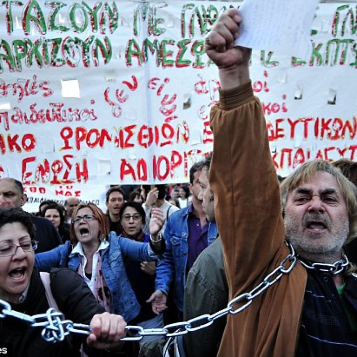 Greek Austerity or Greek Default?