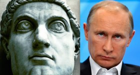 What do Vladimir Putin and Constantine the Great have in common?
