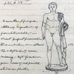 Ancient Corinth, Statue, Drawing